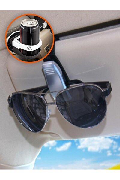 Araç Içi Bardak, Içecek Tutucu Ve Araba Gözlük Tutacağı Klips