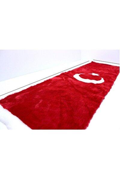 Peluş Türk Bayrağı Torpido Halısı