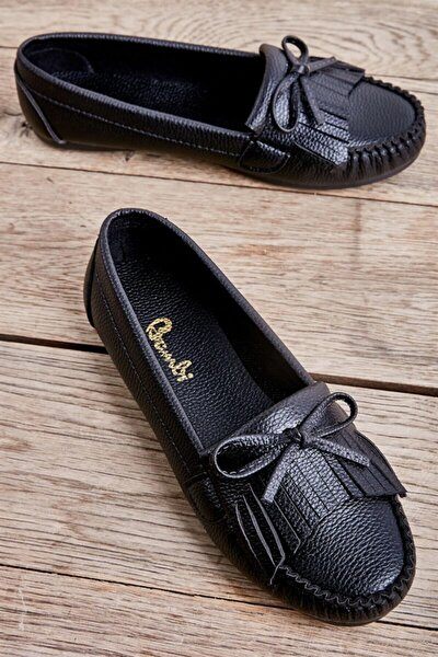 Siyah Kadın Loafer Ayakkabı L05421231