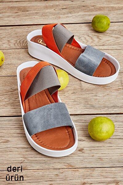 Koyu Gri Kadın Sandalet L0515131002