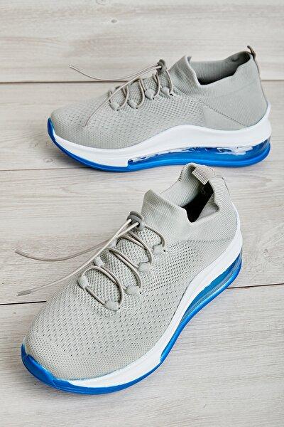 Gri/saks Kadın Sneaker L0816171082