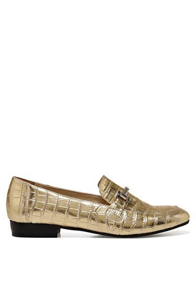KOMI Altın Kadın Loafer Ayakkabı 100669625