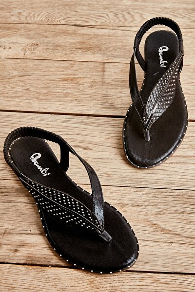 Siyah Kadın Sandalet L0512019536