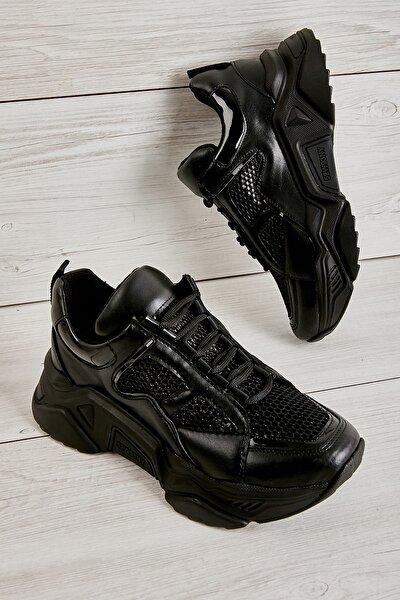 Siyah Kadın Sneaker L0510010809