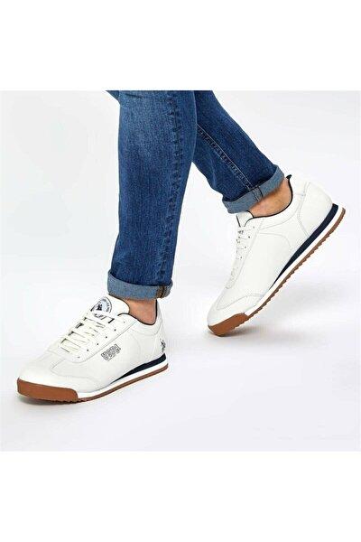 M.deep Erkek Spor Ayakkabı Beyaz
