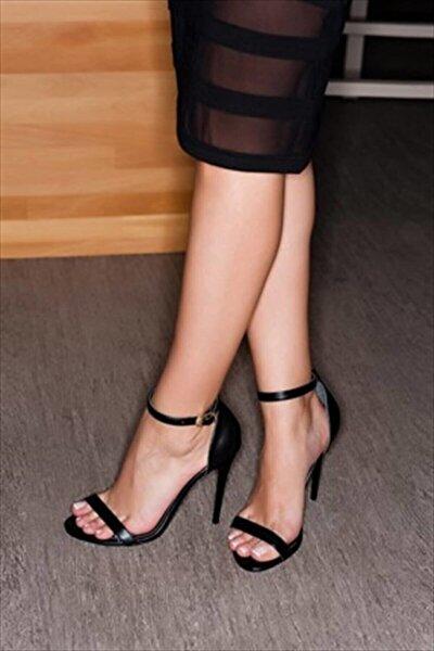 Siyah Kadın Topuklu Ayakkabı B922112609