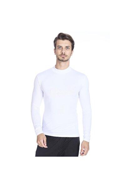 Erkek Beyaz Uzun Kollu Boğazlı Içlik 0656510