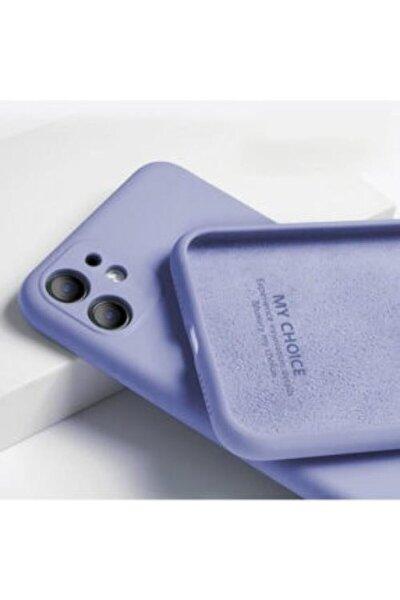 Iphone 11 Kılıf 3d Kamera Korumalı Lansman Içi Kadife Lila