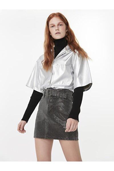 Metalik Form Gömlek