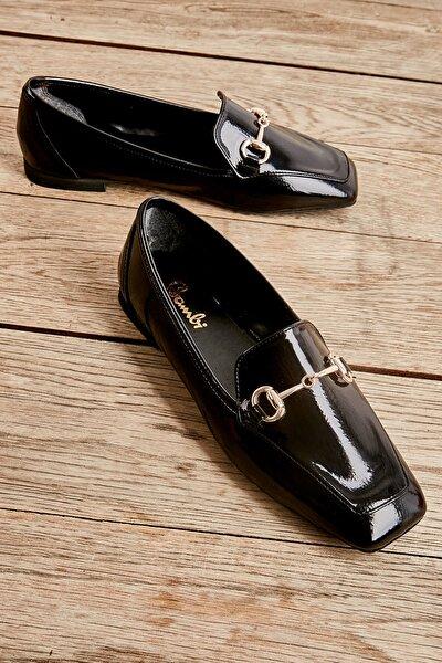 Siyah Kadın Loafer Ayakkabı L05440141