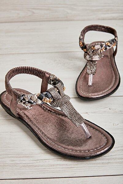 Platin Kadın Sandalet L0625011778