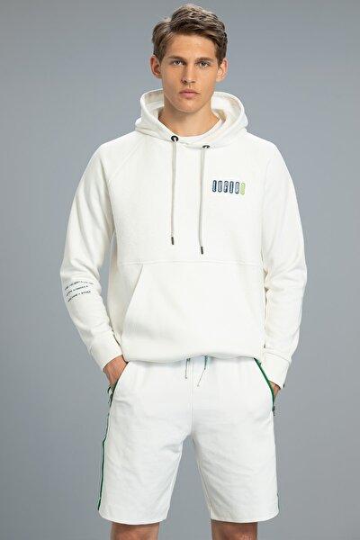 Lamer Sweatshirt Kırık Beyaz