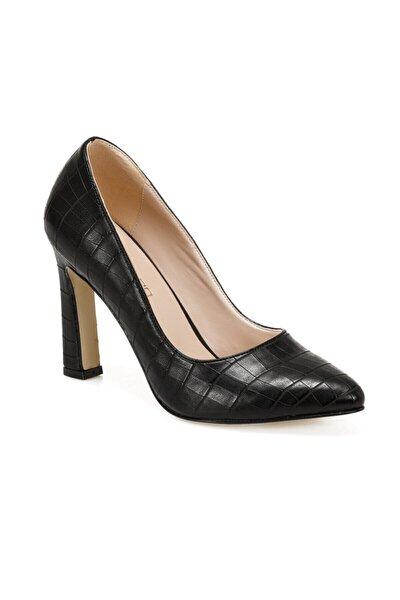 AVA Siyah Kadın Topuklu Ayakkabı 100912564
