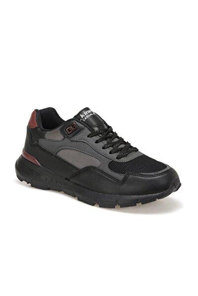 GRAFY Siyah Erkek Kalın Taban Sneaker Spor Ayakkabı 100540829