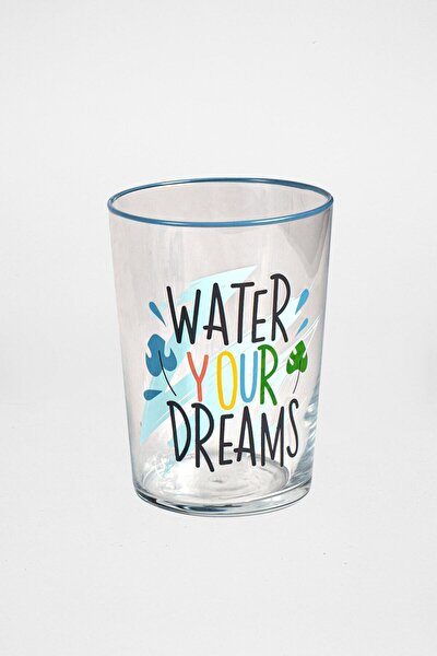 Water Your Dreams Ölçülü Meşrubat Bardağı