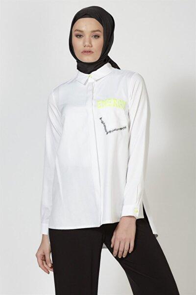 Gömlek 19ka3711 Beyaz