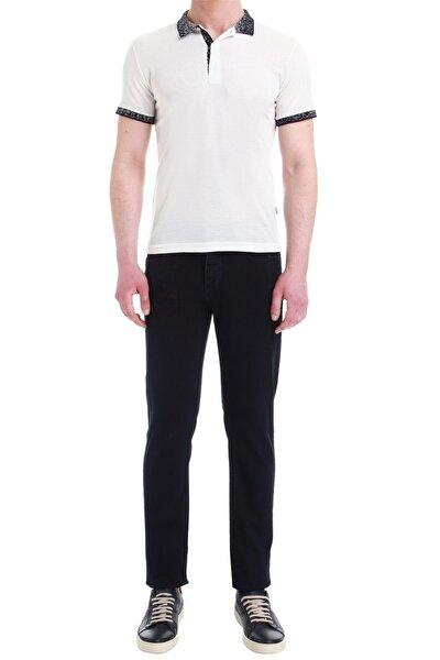 035 Slim Fit Lacivert Jean Pantolon