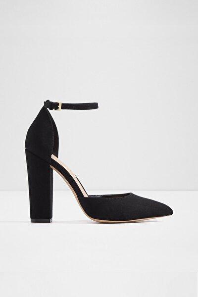Nıcholes - Siyah Kadın Topuklu Ayakkabı