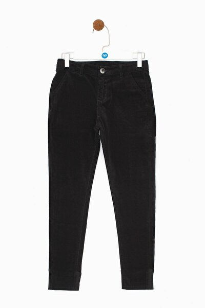 Erkek Çocuk Siyah Pantolon