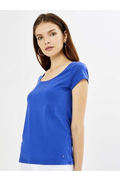 Xınt U Yaka Modal Basic Tişört