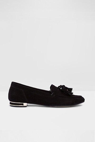 Roosen-tr - Siyah Kadın Loafer Ayakkabı