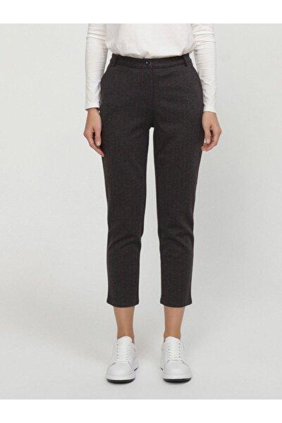 Xınt Normal Bel Rahat Kesim Çizgili Pantolon