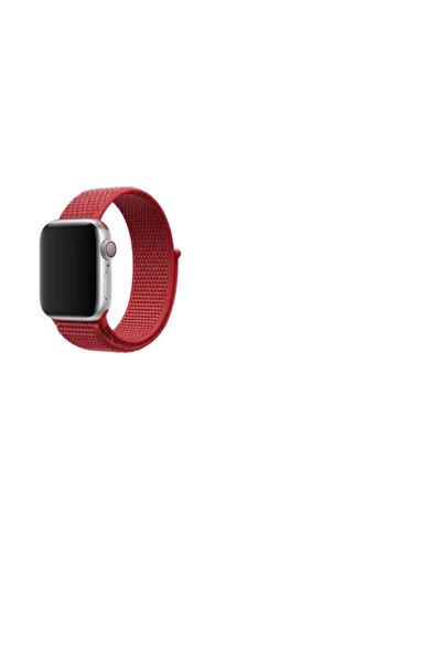 Apple Watch 3 4 5 Için 44mm Nike Loop Model Kayış Cırtlı Kordon
