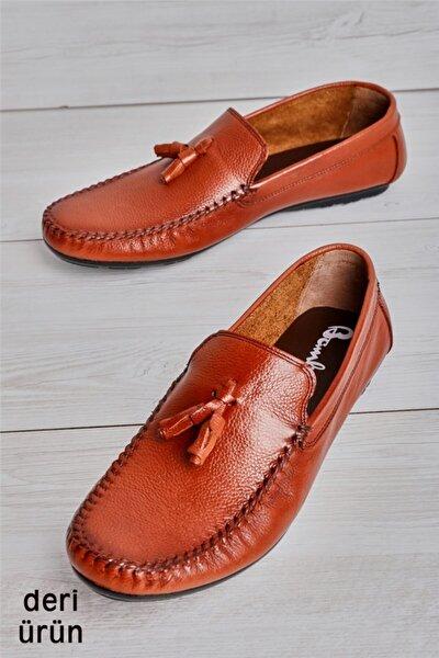 Hakiki Deri Taba Erkek Loafer L1623060003