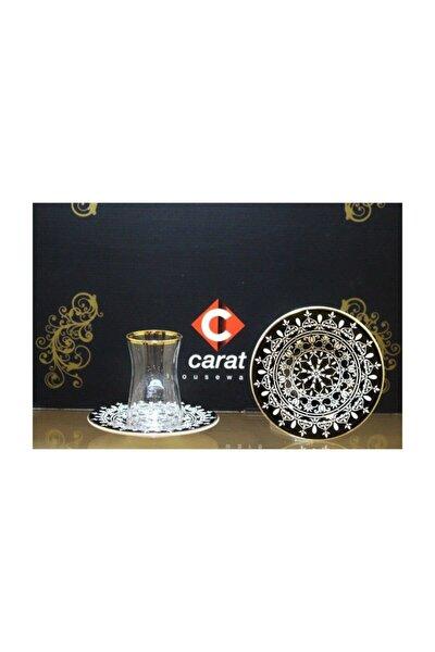 Carat 6 Lı Çay Bardağı Seti Motif