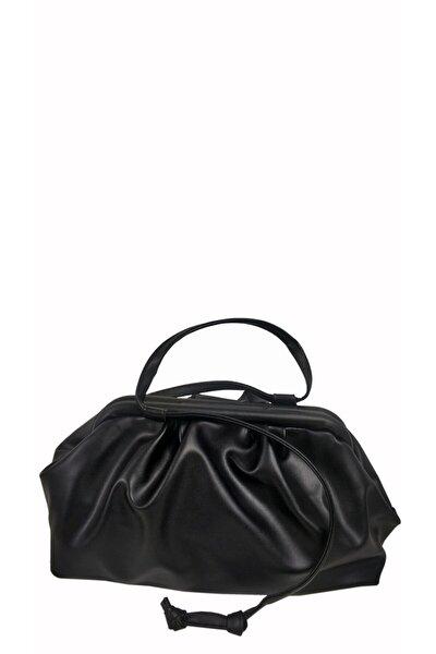 Burslu Siyah Çanta