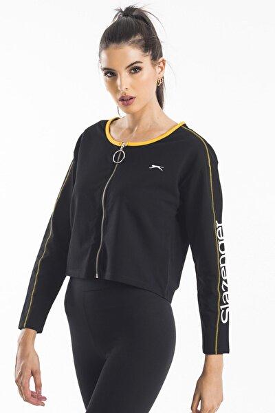 PEPPER Kadın Sweatshirt Siyah ST10WK013
