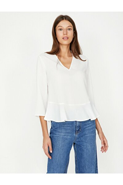 Firfir Detayli Bluz