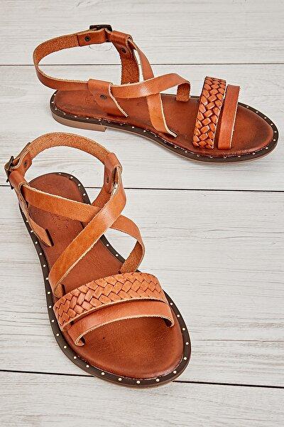 Taba/taba Örgü Kadın Sandalet L0685081403