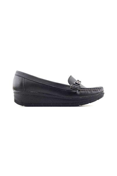 572107 Kadın Günlük Ayakkabı-siyah