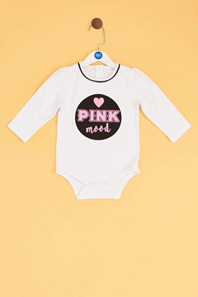 Kız Bebek Beyaz Body