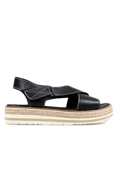 Siyah Kadın Terlik / Sandalet 372 56190-z