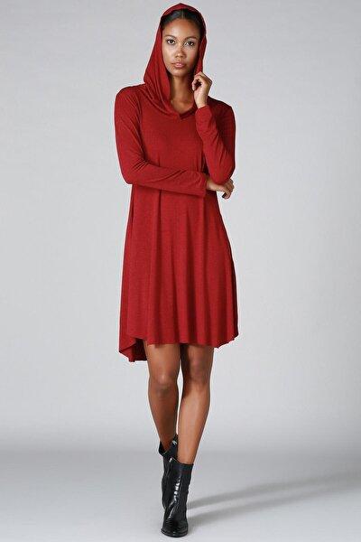 Kapşonlu Elbise