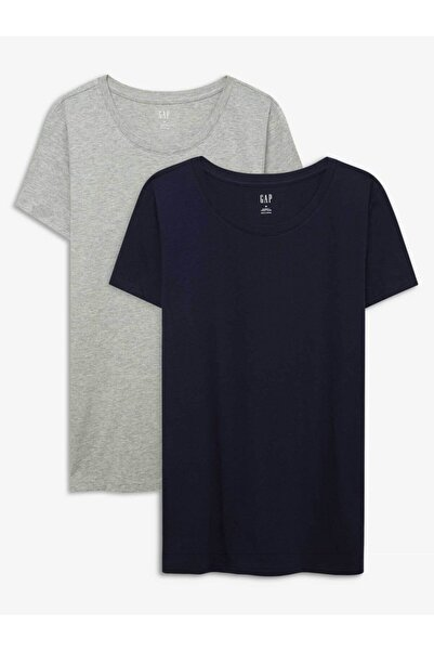 2'li Favorite Yuvarlak Yaka T-shirt Seti