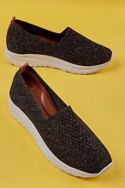 Siyah Kadın Sneaker L06730055