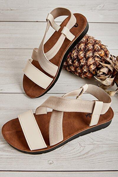 Bej Kadın Sandalet L0642222209