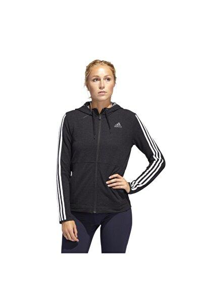 3S KNT FZ HOODY Siyah Kadın Sweatshirt 101117888