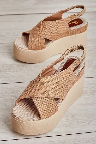 Natural Kadın Sandalet