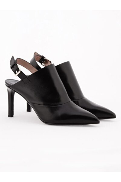 Hakiki Deri Klasik Topuklu Ayakkabı Nsc18y-a57110