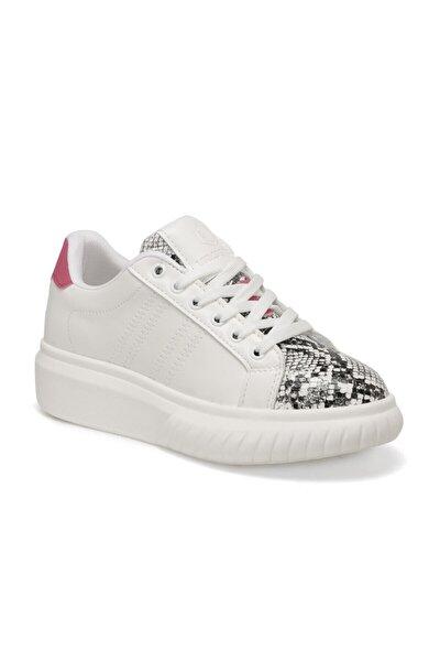 Elenı Beyaz Kadın Sneaker Ayakkabı