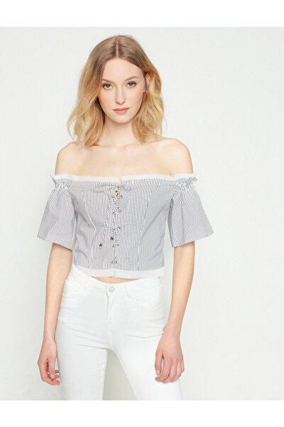 Fahriye Evcen For Jeans Bluz