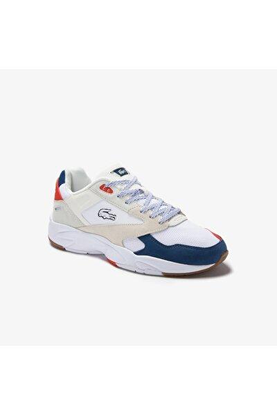 Storm 96 Lo 0120 4 Sma Erkek Beyaz - Koyu Mavi Sneaker