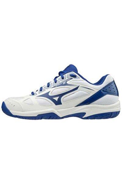 Cyclone Speed 2 Unisex Beyaz Voleybol Ayakkabısı Beyaz / Mavi