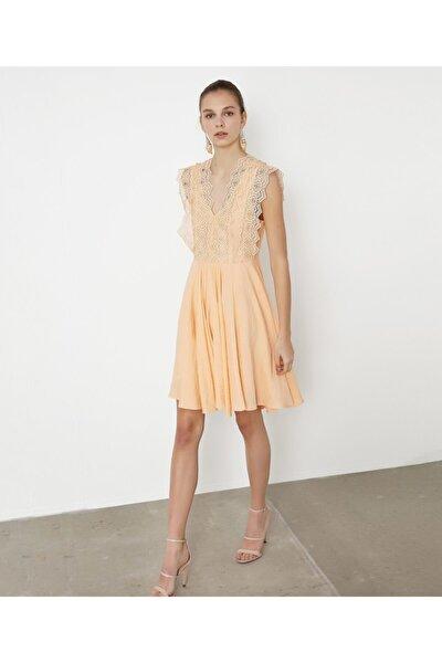 Güpür Mixli Elbise
