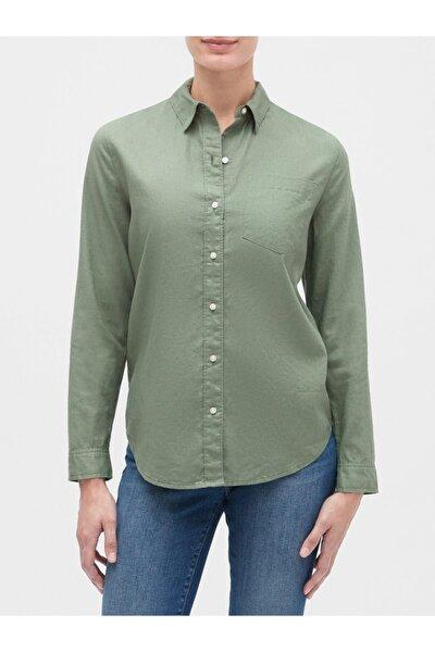 Uzun Kollu Boyfriend Gömlek