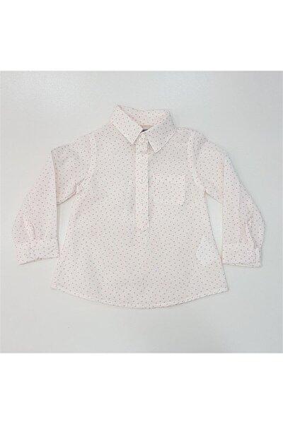 Kids 271094 Kız Bebek Kalp Desenli U.kol Gömlek